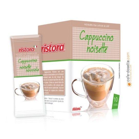 Boisson Soluble Ristora Saveur Cappuccino Noisette (x10) - 2.6€