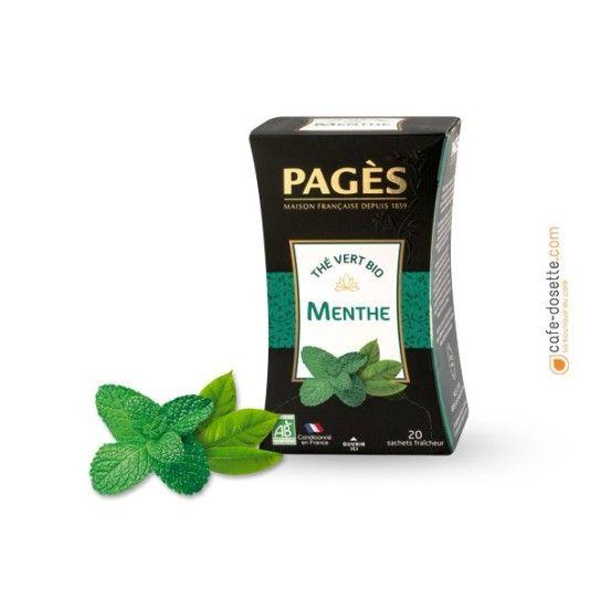 Thé Vert Bio Menthe - 3.5€