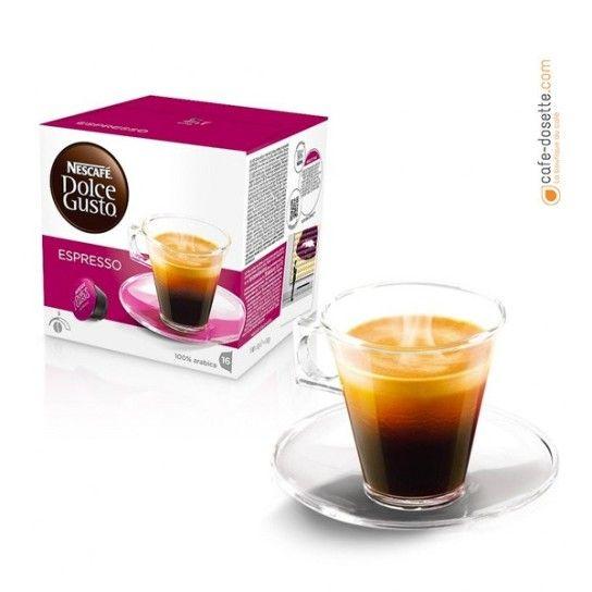 Capsule Dolce Gusto® Espresso N°5 (x16) - 4.75€