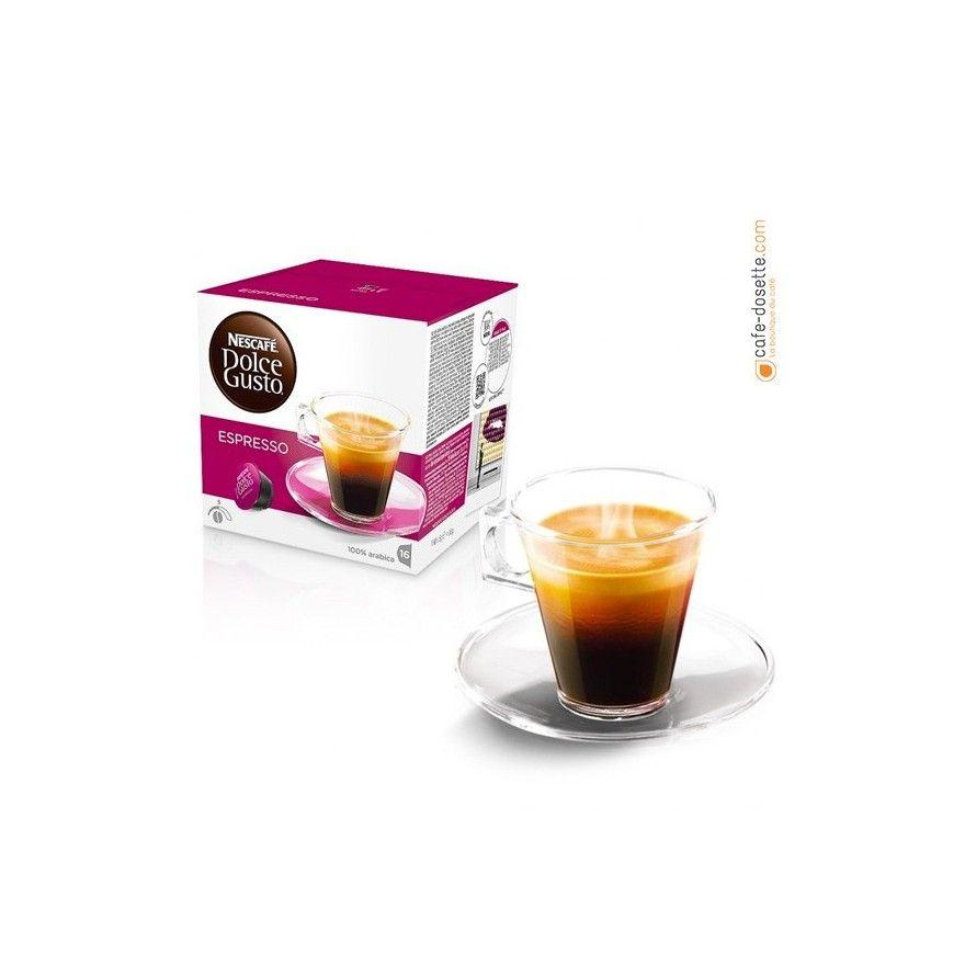 capsule dolce gusto espresso n 5 x16 cafe. Black Bedroom Furniture Sets. Home Design Ideas