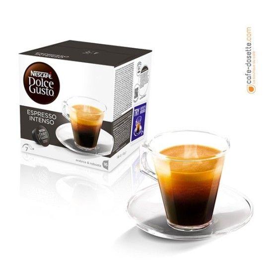 Capsule Dolce Gusto® Espresso Intenso N°7 (x16) - 4.75€
