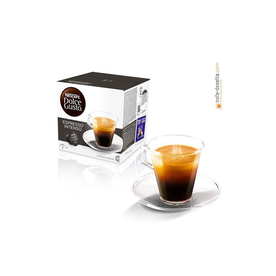 capsule dolce gusto espresso intenso n 7 x16 cafe. Black Bedroom Furniture Sets. Home Design Ideas