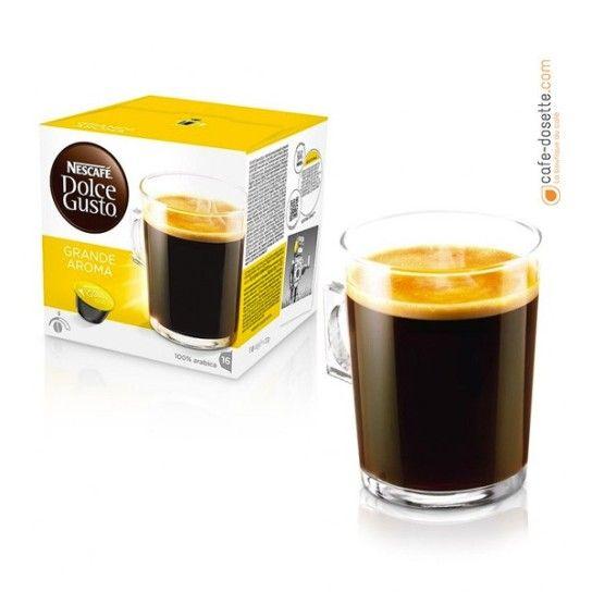 Capsule Dolce Gusto® Grande Aroma N°5 (x16) - 4.75€