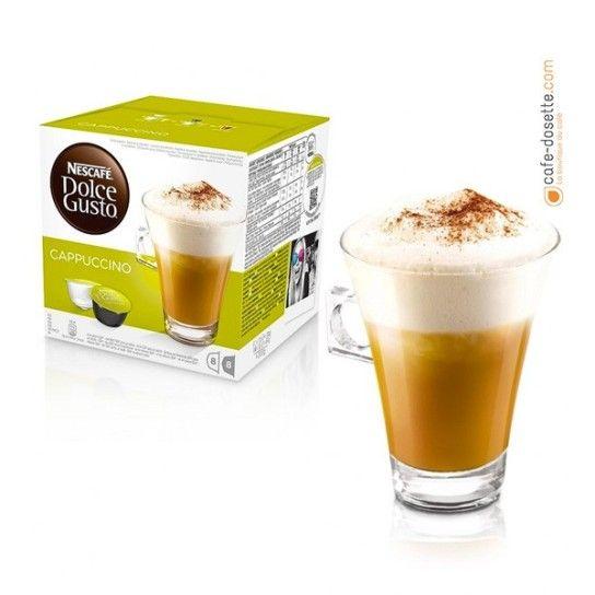 Capsule Dolce Gusto® Cappuccino (x16) - 4.75€