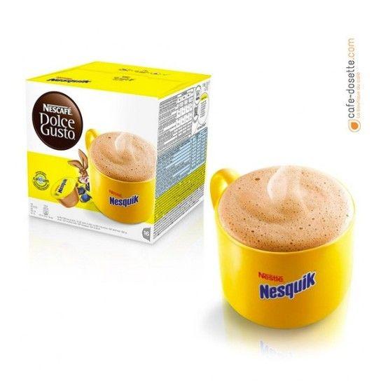 Capsule Dolce Gusto® Chocolat Nesquik (x16) - 4.75€