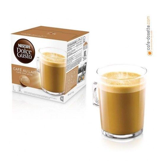 Capsule Dolce Gusto® Nescafé Café au Lait (x16) - 4.75€