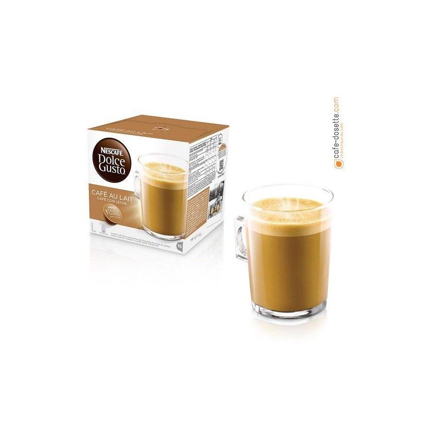 capsule dolce gusto nescaf caf au lait x16 cafe. Black Bedroom Furniture Sets. Home Design Ideas
