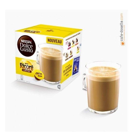 Capsule Dolce Gusto® Ricoré Latte (x16) - 4.75€