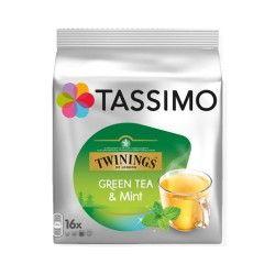 Dosette Tassimo Twinings Thé Vert à la Menthe (x16)