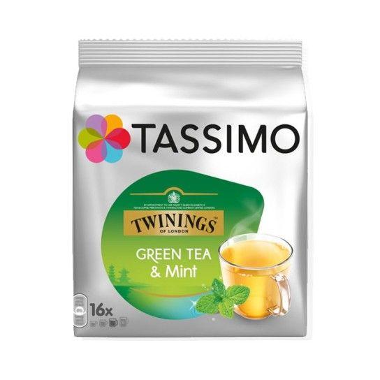 Dosette Tassimo Twinings Thé Vert à la Menthe (x16) - 4.26€