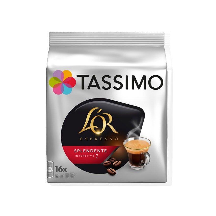 dosette tassimo l 39 or espresso splendente n 7 x16 cafe. Black Bedroom Furniture Sets. Home Design Ideas