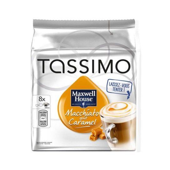 Dosette Tassimo Macchiato Caramel Maxwell House (x8) - 4.9€