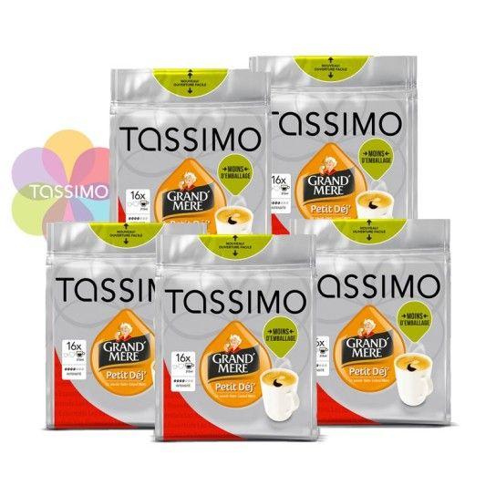 Offre Tassimo Grand'Mère Petit-Déj (x80) - 14.36€