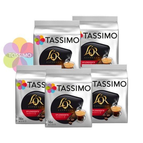 Offre Tassimo L'Or Espresso Splendente N°7 (x80) - 22.46€