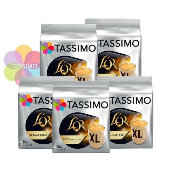 Offre Tassimo L'Or Espresso XL Classique (x80) - 23.85€