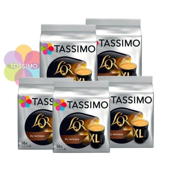 Offre Tassimo L'Or Espresso XL Intense (x80) - 23.85€