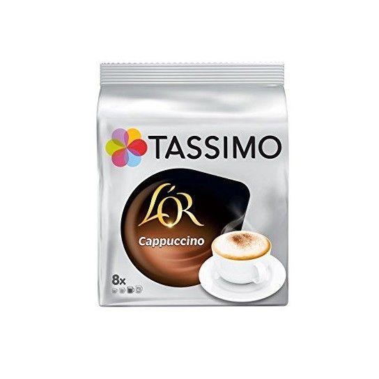 Dosette Tassimo Carte Noire Cappuccino (x8) - 4.68€