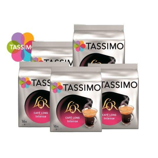 Offre Tassimo L'Or Café Long Intense (x80) - 21.38€