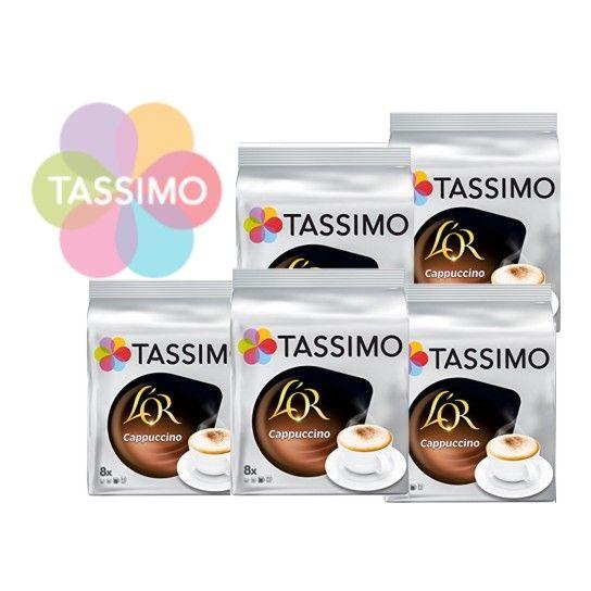 Offre Tassimo L'Or Cappuccino (x80)