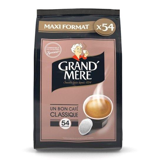 Dosette Senseo® Compatible Café Classique Grand'Mère (x36)