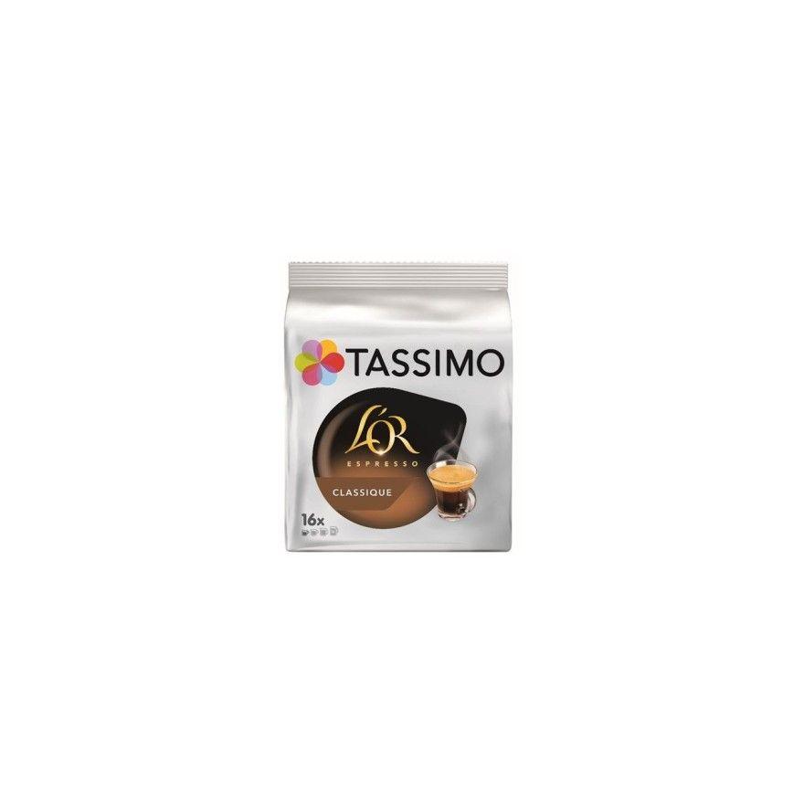 dosette tassimo l 39 or espresso classic x16 t discs cafe. Black Bedroom Furniture Sets. Home Design Ideas