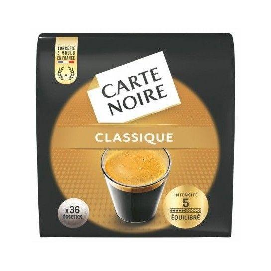 Dosette Senseo® Compatible Classic N°5 Carte Noire (x36)
