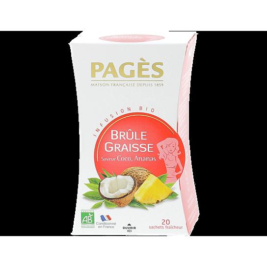 Infusion Brule Graisse- Infusion BIO Pagès (x20) - 4.4€