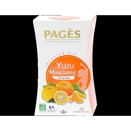 Infusion Yuzu - Infusion BIO Pagès (x20) - 4.4€