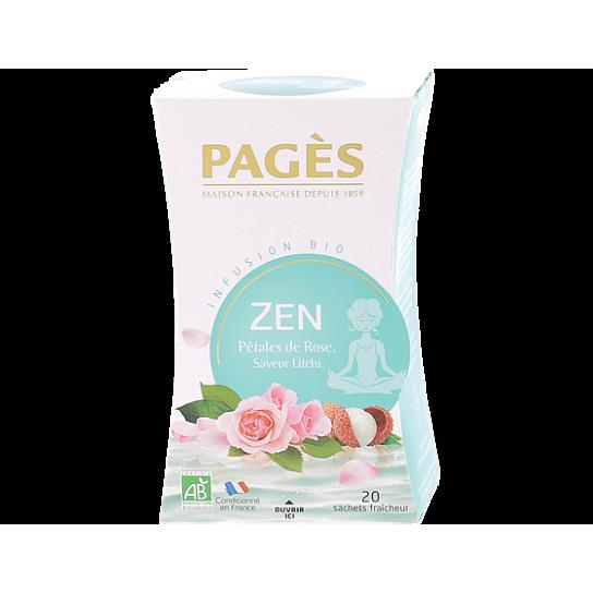 Infusion Zen - Infusion BIO Pagès (x20) - 4.4€