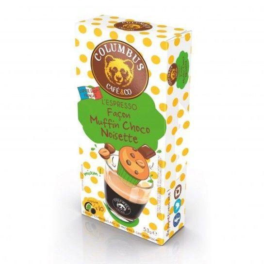 Capsule Nespresso® Compatible Columbus Espresso Muffin Choco Noisette