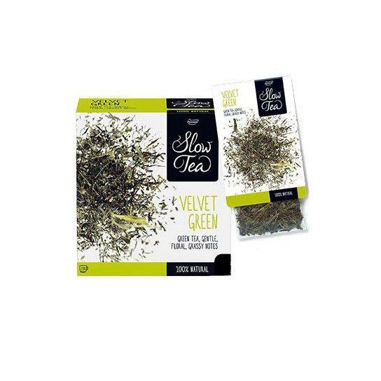 Slow Tea - velvet Green - Thé vert (x25)