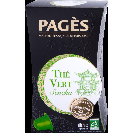 Pagès - Thé Vert Sencha Capsules (x10)
