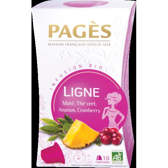 Pagès - Infusion Bio Ligne Capsules (x10)