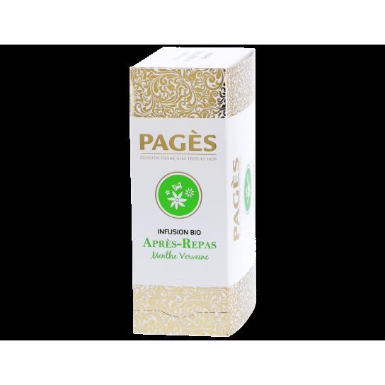 Pagès - Infusion Bio Après-Repas (x24) - Prestige du Monde