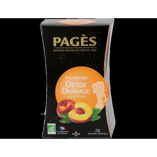 Thé Vert Mangue Abricot - Thé BIO Pagès (x20) - 3.5€