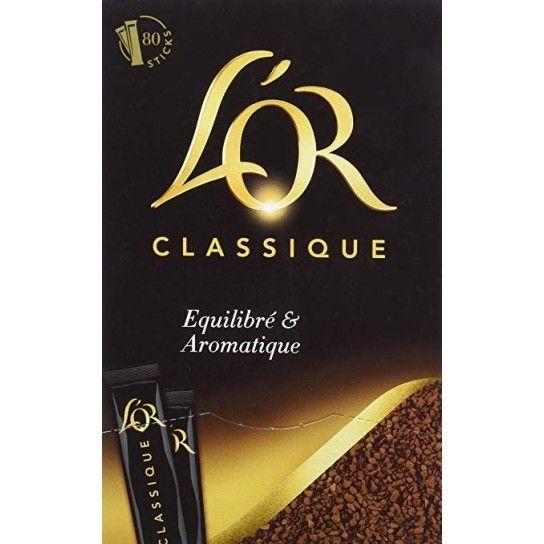 Café soluble en Stick - L'Or Espresso Classique (x80)