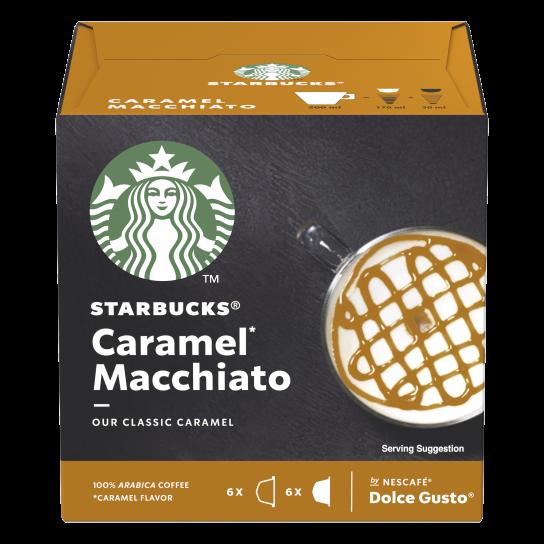 STARBUCKS® CARAMEL MACCHIATO® BY NESCAFE® DOLCE GUSTO®