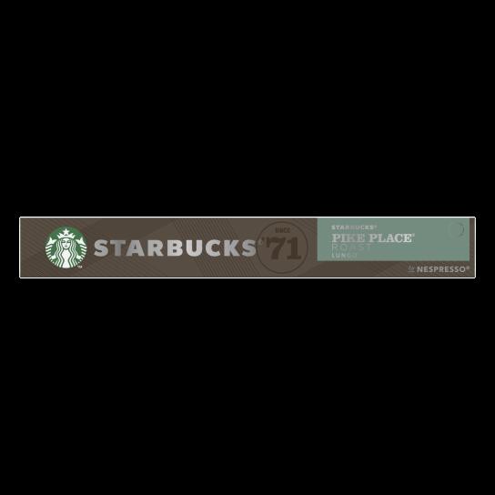 STARBUCKS® PIKE PLACE® ROAST BY NESPRESSO®