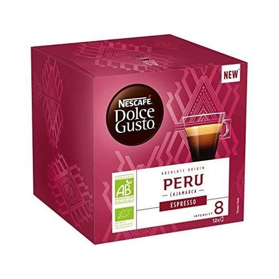 CAPSULE DOLCE GUSTO® ESPRESSO PERU BIO (x12)