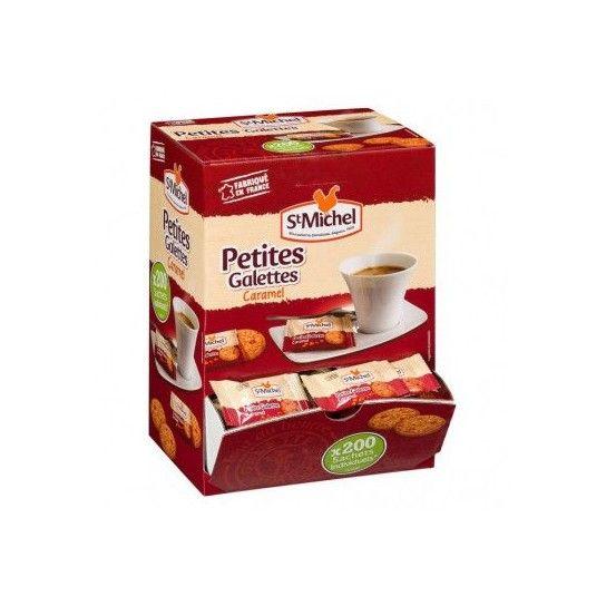 ST MICHEL - PETITES GALETTES CARAMEL - BOITE (x200)
