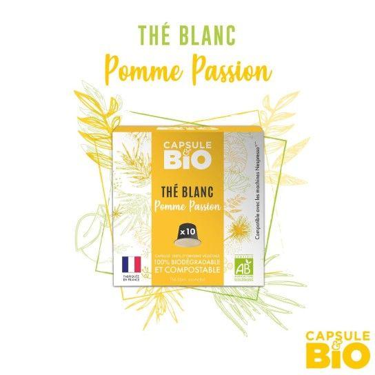 Capsule Bio - Thé Blanc Pomme Passion (x10)