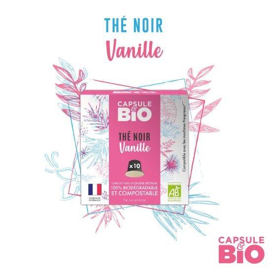 Capsule Bio - Thé Noir Vanille (x10)