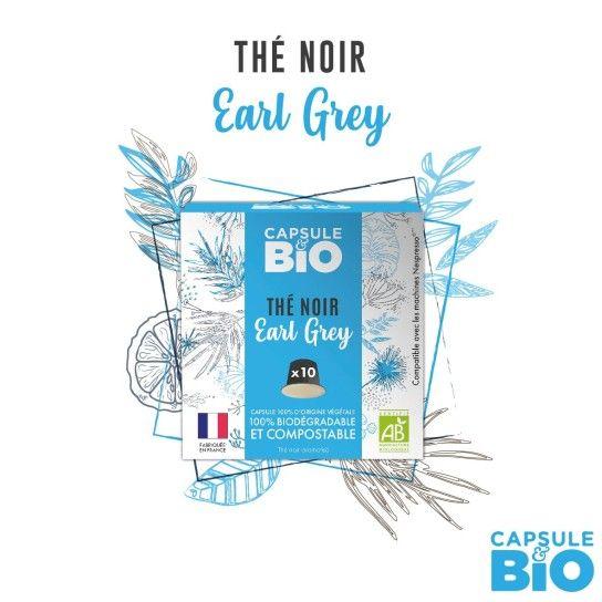 Capsule Bio - Thé Noir Earl Grey (x10)
