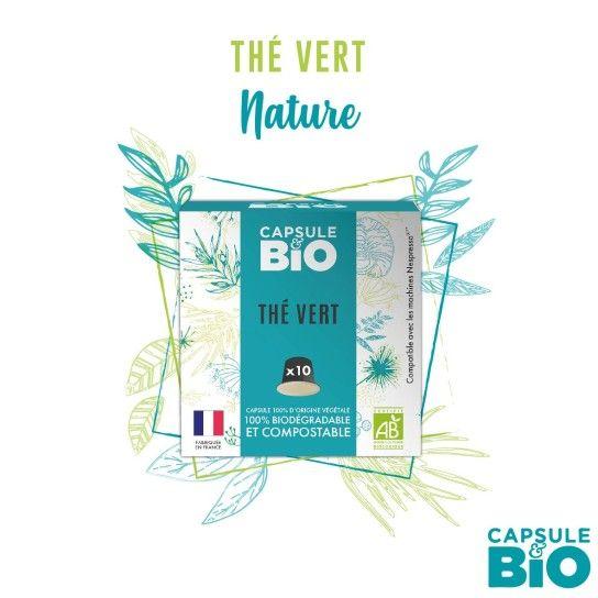 Capsule Bio - Thé Vert (x10)