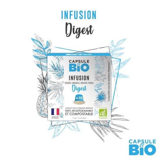 Capsule Bio - Infusion Digest (x10)