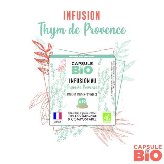 Capsule Bio - Infusion Thym de Provence (x10)