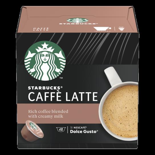 STARBUCKS® CAFFÈ LATTE® BY NESCAFE® DOLCE GUSTO®